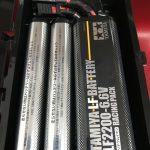 タミヤのバッテリー運搬にぴったり!100円ショップセリアのフタがとまるケースS