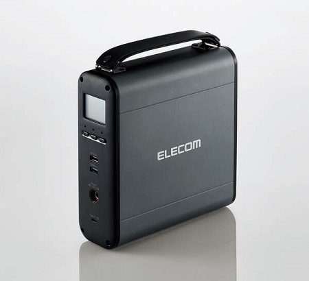 エレコムのポータブル電源(DE-AC05-60900BK)を入手したのでどんだけ使えるか試してみる